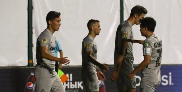 """Гол молодого игрока """"Кайрата"""" после финта признан лучшим в 13-м туре КПЛ-2020"""