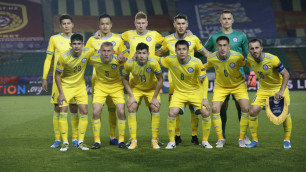 Сборная Казахстана по футболу потеряла одну позицию в рейтинге ФИФА