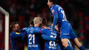 ЦСКА сыграл вничью в дебютном матче Зайнутдинова за клуб в Лиге Европы