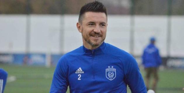 """Тихонов имеет свой взгляд - защитник """"Астаны"""" и сборной Сербии"""
