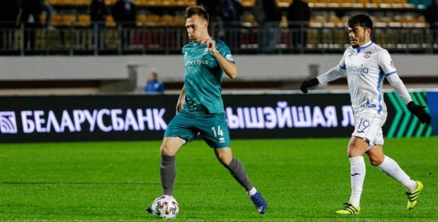 Полузащитника сборной Казахстана признали лучшим игроком матча зарубежного чемпионата