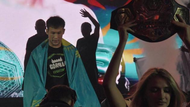 Видео полного боя, или как казахстанец Рахмонов уничтожил соперника в первом поединке в UFC