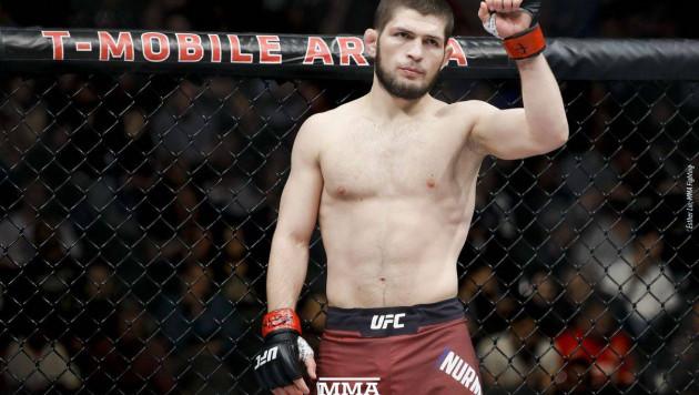 Хабиб вырубил Гэтжи и защитил титул чемпиона UFC