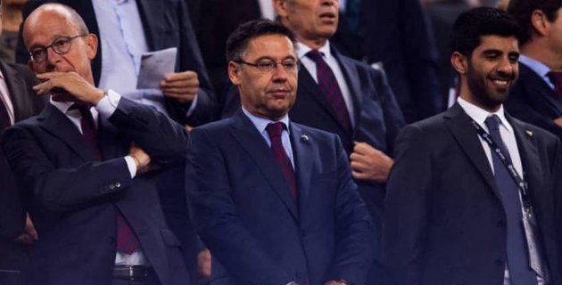 """Президент """"Барселоны"""" отправлен в отставку"""