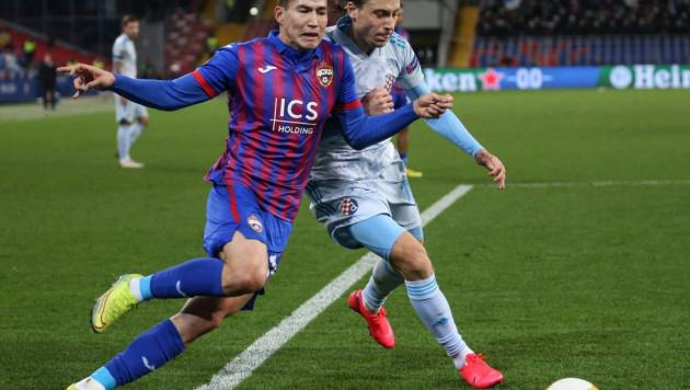 ЦСКА Зайнутдинова потерял очки во втором матче Лиги Европы подряд