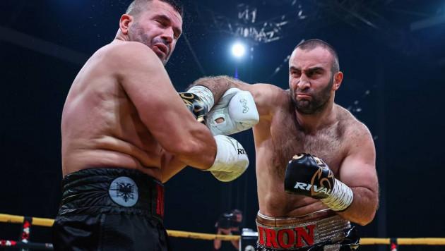 Мурат Гассиев выиграл бой за 107 секунд после двухлетнего перерыва