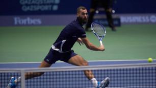 Сегодня состоится финал турнира ATP 250 Astana Open
