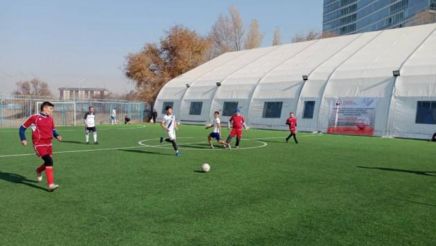 Команда Vesti.kz приняла участие в турнире по футболу среди сотрудников СМИ