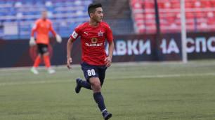 Казахстанский футболист не попал в стартовый состав на кубковый матч против клуба РПЛ