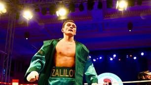 Казахстанский боксер Залилов потерпел поражение в карде у Тищенко