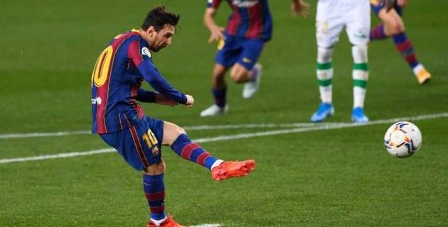 """Месси вышел на замену и помог """"Барселоне"""" разгромить """"Бетис"""" в Ла Лиге"""