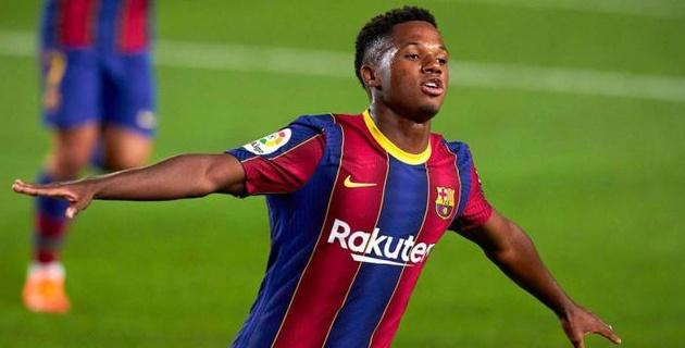 """18-летний нападающий """"Барселоны"""" получил разрыв мениска в матче Ла Лиги"""