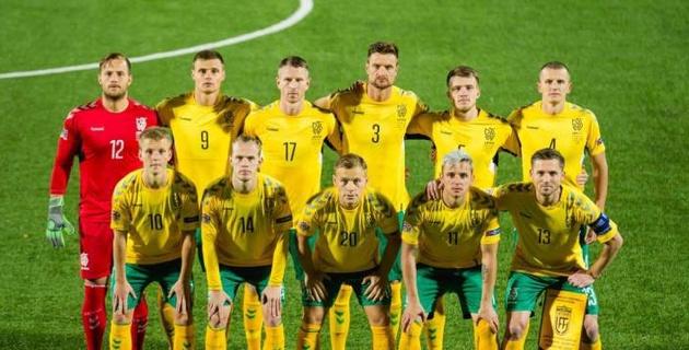 Литва вызвала футболистов из немецких и бельгийских клубов на матч Лиги наций с Казахстаном