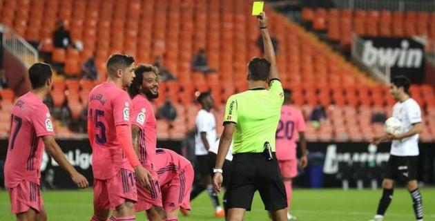 """""""Реал"""" пропустил четыре мяча и потерпел второе поражение в Ла Лиге"""