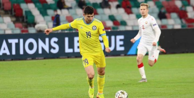 Зайнутдинов - колоссальная потеря для сборной Казахстана. Билеку придется сыграть в два форварда