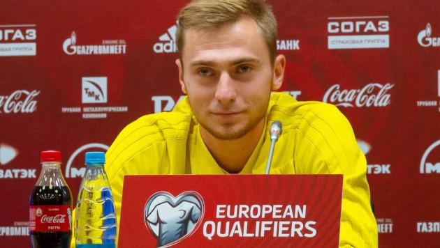Бельгийский клуб обратился к футболисту сборной Казахстана
