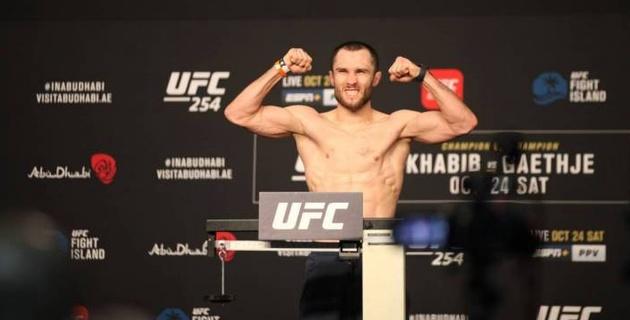 Казахстанский боец Морозов близок к дебюту в UFC