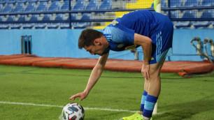Определены лучшие и худшие футболисты сборной Казахстана в матче с Черногорией