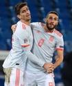 Испания на 89-й минуте спаслась от поражения в матче Лиги наций с двумя незабитыми пенальти Рамоса