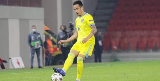 Сборная Казахстана отметилась рекордом в матче Лиги наций с Албанией