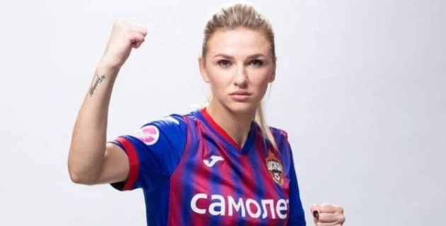 Футболистка сборной Казахстана стала чемпионом России в составе ЦСКА