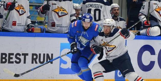"""Первая шайба форварда из НХЛ, удаление до конца матча и буллиты. """"Барыс"""" упустил победу над """"Металлургом"""""""