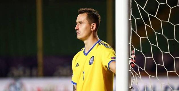 Футболисты сборной Казахстана вошли в команду недели Лиги наций