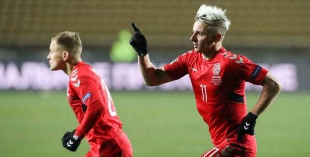 Стали известны премиальные сборной Литвы за победу над Казахстаном в Лиге наций