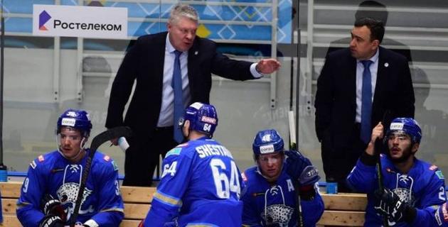 """Тренер """"Барыса"""" нашел объяснение третьему поражению подряд в КХЛ"""