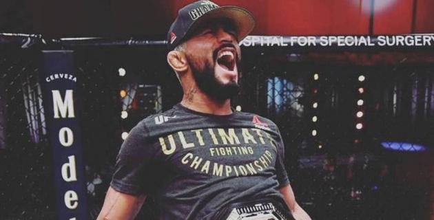 Чемпион UFC из Бразилии за две минуты впервые защитил титул