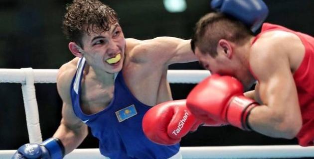Победа от профи-боксера и вылет золотого медалиста. Как в Шымкенте продолжается чемпионат Казахстана по боксу