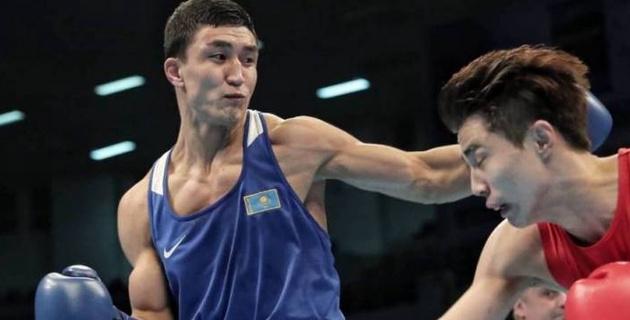 Соперник Аманкула выиграл тяжелым нокаутом перед встречей с лидером сборной Казахстана