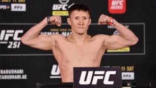 Четыре отмененных боя за год. Почему казахстанским бойцам так не везет в UFC?