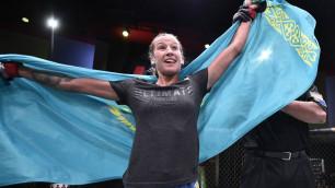 Дебютный год, или сколько заработали казахстанские бойцы в UFC