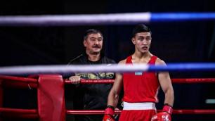 Призер ЧМ-2017 Аманкул досрочно выиграл второй бой на чемпионате Казахстана