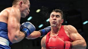 Капитан сборной Казахстана Кункабаев после дебюта на профи-ринге выиграл медаль ЧРК-2020