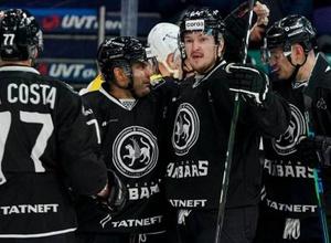 """Хоккеист сборной Казахстана Доус оформил первый хет-трик за """"Ак Барс"""" и сделал это за 19 минут"""