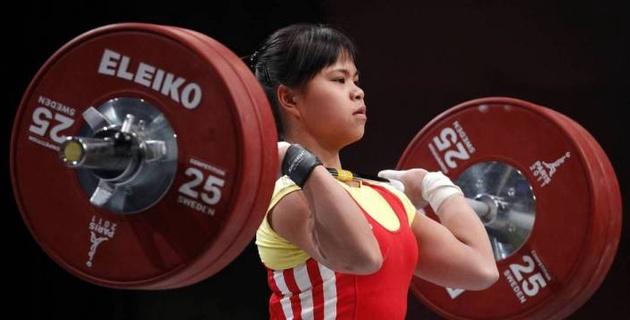 Тяжелоатлетка Чиншанло заявила о цели заставить звучать гимн Казахстана на Олимпиаде в Токио