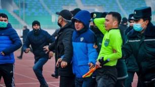 Задержаны шесть человек за избиение футбольных судей в чемпионате Узбекистана