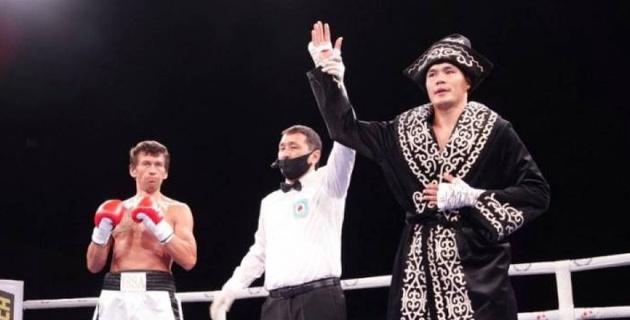 Капитан сборной Казахстана по боксу получил соперника и дату второго боя в профи