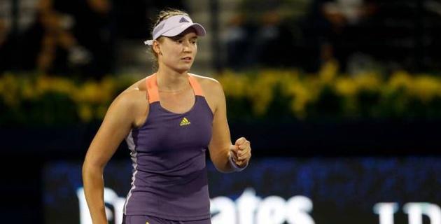 Первая ракетка Казахстана Елена Рыбакина номинирована на премию WTA
