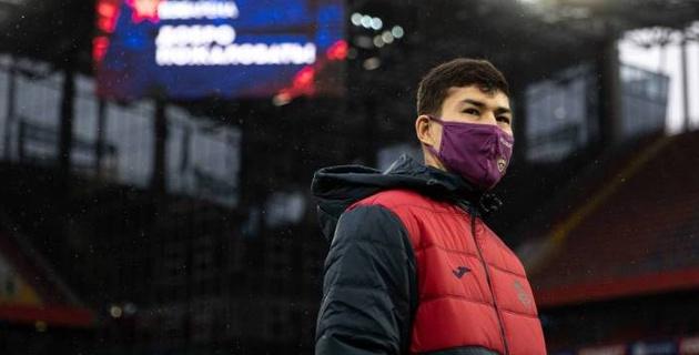 Зайнутдинов вошел в состав ЦСКА на матч Лиги Европы