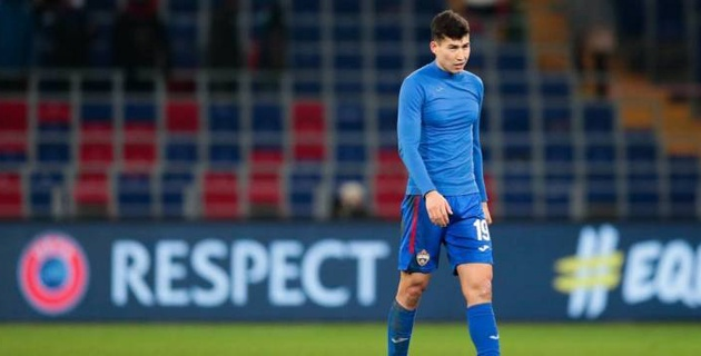 ЦСКА с Зайнутдиновым в составе потерпел поражение в матче Лиги Европы