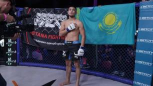 Прямая трансляция онлайн-турнира Хабиба EFC 30 с участием пяти казахстанцев