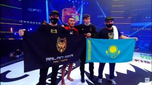 Вошел в историю! Казахстанец стал победителем первого боя новой лиги Хабиба