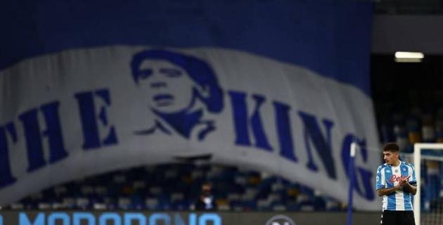 """Сын Неаполя. Стадион """"Наполи"""" переименовали в честь Диего Марадоны"""
