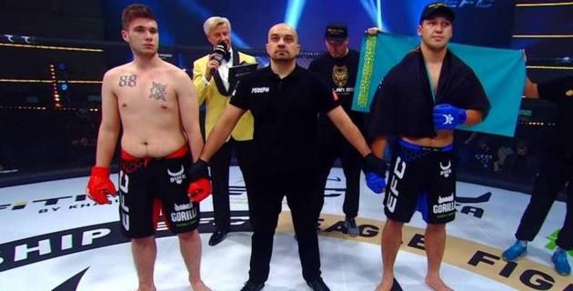 Первооткрыватель и кровавая заруба. Как казахстанские бойцы выступили на дебютном турнире промоушена Хабиба