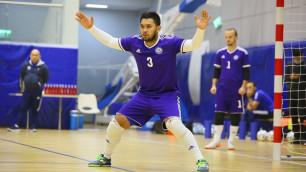 Сборная Казахстана понесла потери перед матчем квалификации футзального Евро