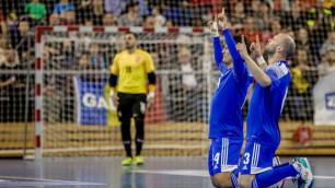Прямая трансляция стартового матча сборной Казахстана по футзалу в отборе на Евро-2022