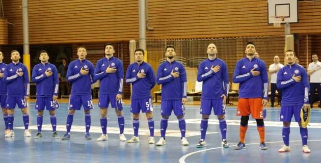 Сборная Казахстана по футзалу разгромила соперника в первом матче отбора на Евро-2022